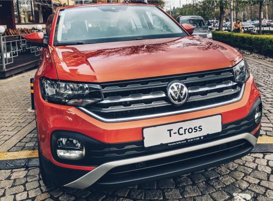 Снимка: Volkswagen T-Cross с премиера в България