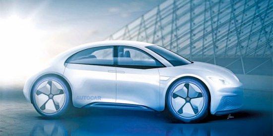 Следващото поколение на хечбека Volkswagen Beetle ще стане непълно електрически и