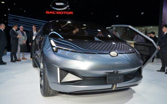 Китайският автопроизводител GAC Motor направи впечатление в Североамериканското автомобилно изложение 2019 NAIAS, показвайки