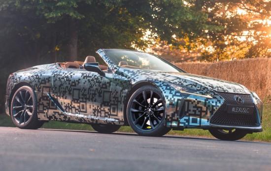 -Lexus потвърждава производството на открита версия на флагман спортното купе LC; -Концептуалният модел