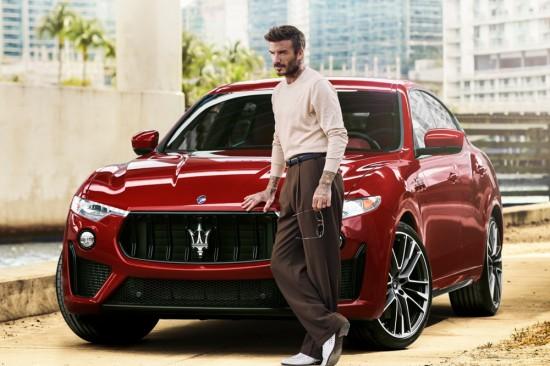 Maserati вече има нов специален посланик на марката - Дейвид Бекъм