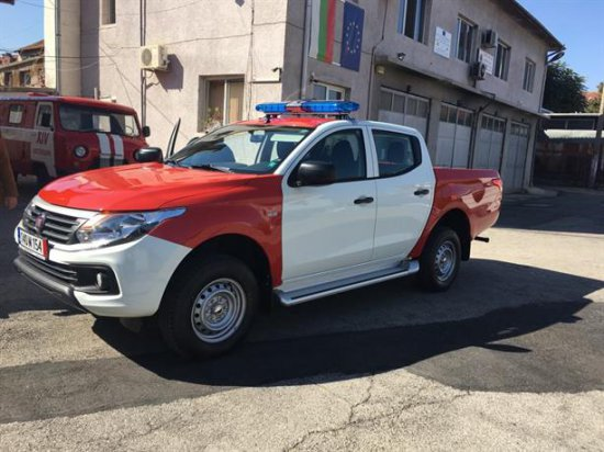 Автомобилът бе предоставен от кмета на Кюстендил Петър Паунов и от представителя