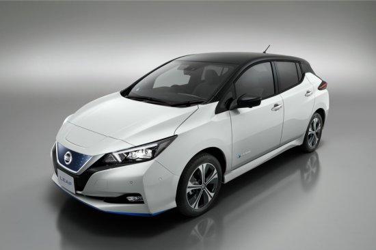 Снимка: Nissan LEAF получи 62 kWh батерия