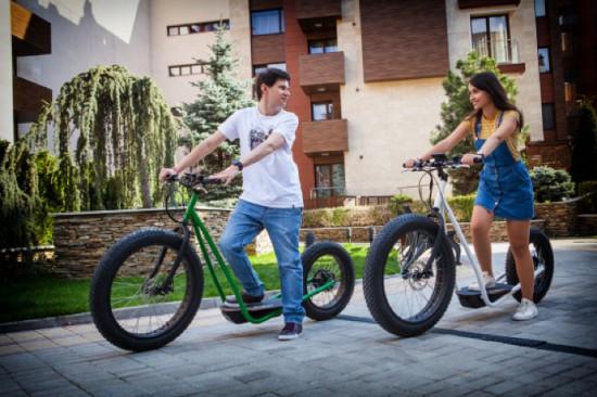 Снимка: Vinghen Ti1 – Електрически пуш-скутер от България