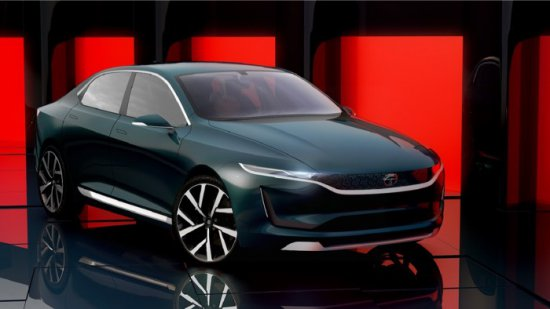 Tata Motors показа Tata EVision concept в Geneva Motor Show. Машината