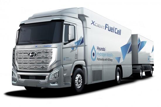 Hyundai залага вече и на камион с водородно задвижване. Наскоро корейският производител