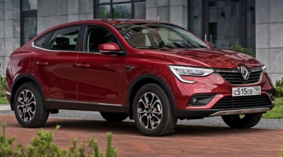 Създаденият от Renault специално за Русия модел Arkana е вече на