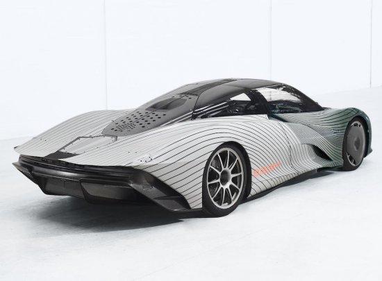 В края на работната седмица McLaren Automotive разпространи официални снимки на