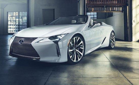Североамериканското подразделение на Lexus представи изцяло новота концептуална разработка LC Convertible по