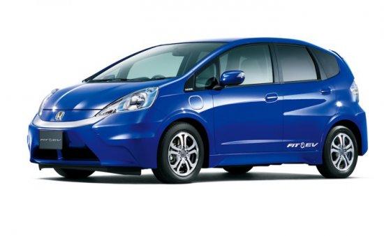 Новият вариант на електромобила на Honda - субкомпактния Fit/Jazz ще предложи