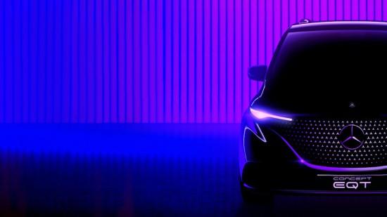 Днес Mercedes-Benz анонсира премиерата на още един представител на изцяло електрическото си