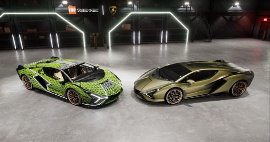 Lamborghini реализира пореден проект с LEGO, като този път акцент в