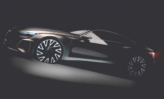 По време на годишната си пресконференция, Audi анонсира бъдещата поява на изцяло