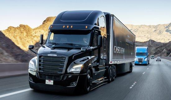 Успоредно със световната премиера на новия Freightliner Cascadia, оборудван със система за