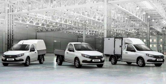 Снимка: Нови търговски версии на Lada Granta