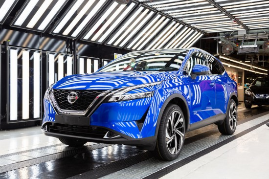 Nissan обяви, че в завода на компанията в Съндърланд, Великобритания, е