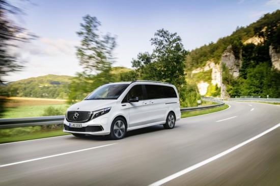 Новото попълнение в семейството електромобили EQV на Mercedes-Benz- електрическият ван Mercedes-Benz EQV,