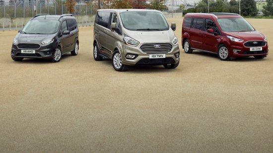 Ford обяви, че публичната премиера на обновеното семейство пътнически превозвачи на марката-