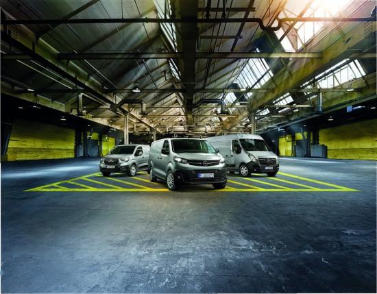 Opel Combo, Vivaro и Movano ще бъдат представени на най-голямото изложение