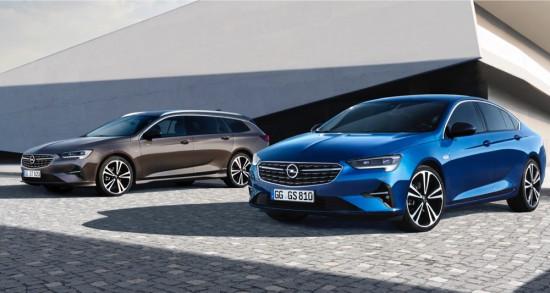 Снимка: Opel освежи Insignia