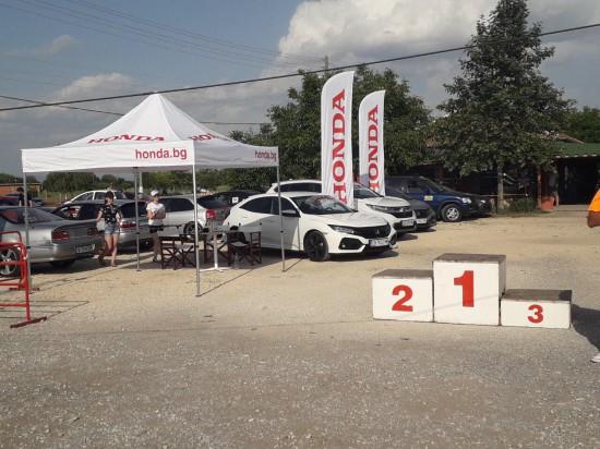 Щандът ни на Национален събор Honda Brothers Четвъртото издание на