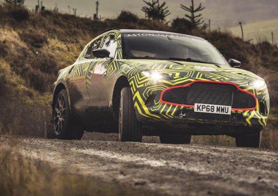 Днес Aston Martin разпространи първите изображения и видео на първото в историята