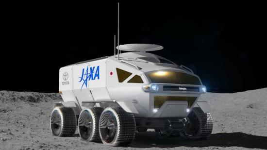 Toyota показа първите изображения на свой луноход, който трябва да се