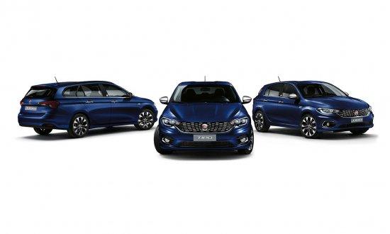 FIAT разкри подробности за новите специални серии на семейството Tipo, основен акцент