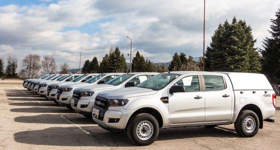 """Автомобилите са закупени в изпълнение на проект """"Подкрепа за справяне с миграционния"""