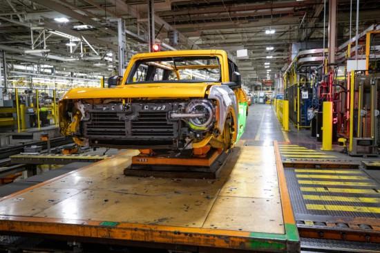 FORD обяви, че производството на изцяло новото поколение на емблемата BRONCO