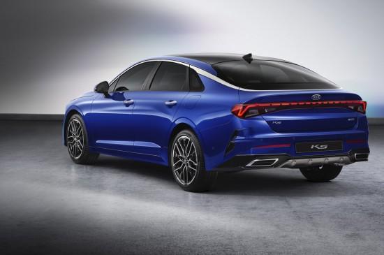 КИА Моторс разкри изцяло новия седан К5. Конструиран за корейския пазар,