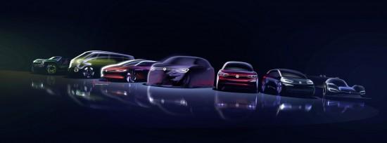 Снимка: Volkswagen разширява електрическото семейство ID с SUV модел